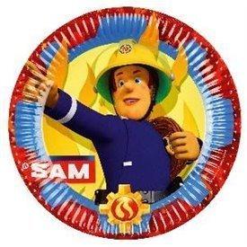 Plato Sam el Bombero 23 cm (8)9902175 Amscan