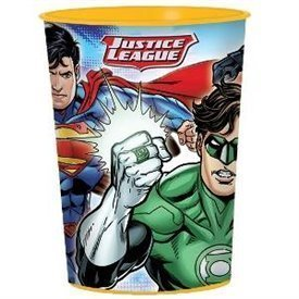 Vaso plastico La Liga de la Justicia (1)421585 Amscan