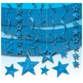 Kit Decoracion Fiesta Color Azul240175-01 Amscan