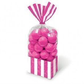 Bolsas candy rayas Fucsia (10)