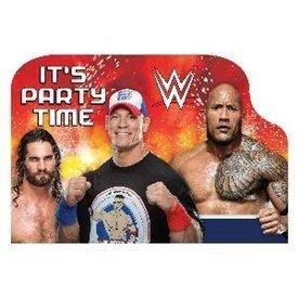 Invitaciones WWE Wrestling (8)