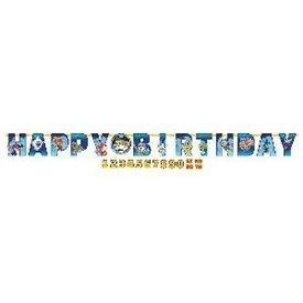 Guirnalda Yo-Kai Watch Happy Birthday Personalizable121740 Amscan