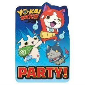 Invitaciones Yo-kai Watch (8)491740 Amscan