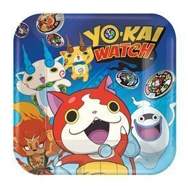 Platos Yo-Kai Watch 23 cm (8)551740am Amscan