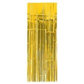 Decoracion Cortina Puerta Color Amarillo