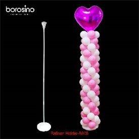 Columna para globos con base de plastico