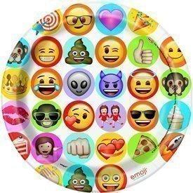 Platos Emoji 23 cm (8)UN-50915 Unique