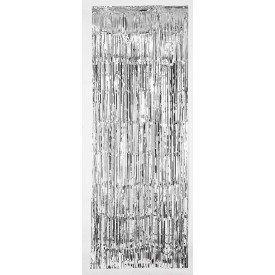 Decoracion Cortina Puerta Color Plata ( 2,4m x 91 cm)24200-18 Amscan