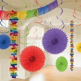 Kit Decoracion Color Multicolor241700-90-55 Amscan