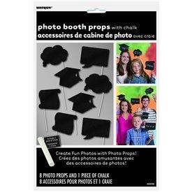 Accesorios Photocall Graduacion Personalizables (10)UN-63558 Unique