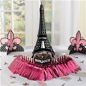 "Kit decoracion mesa ""Un dia en Paris""280058 Amscan"