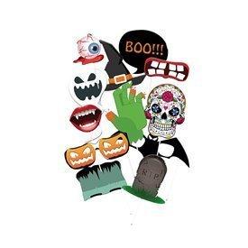 Accesorios Photocall Halloween (12 piezas)12400261 Verbetena