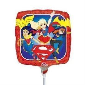 Globo Super Hero Girls Palito sin inflar