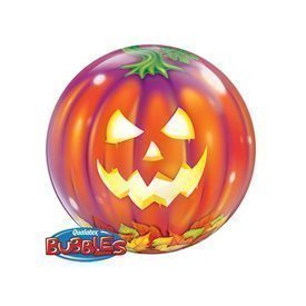 Globo Calabaza Burbuja Bubble de 56 cmQL-18494 Qualatex