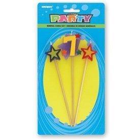Vela Numero 7 y estrellas