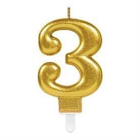 Vela Oro Nº3