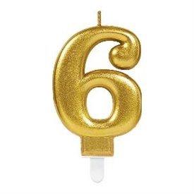 Vela Oro Nº6