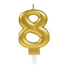 Vela Oro Nº8