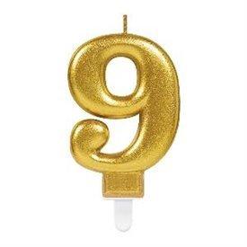 Vela Oro Nº9