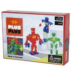 PLUS-PLUS MINI NEON ROBOTS 170 PIEZAS - JUGUETE DE CONSTRUCCIÓNPL-3726 PLUSPLUS