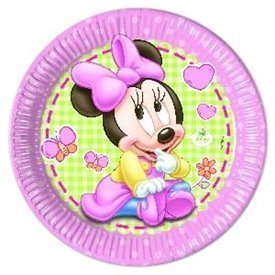 Platos Minnie Infantil 23cm (8)