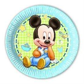 Platos Mickey Infantil 23cm (8)84344 Procos