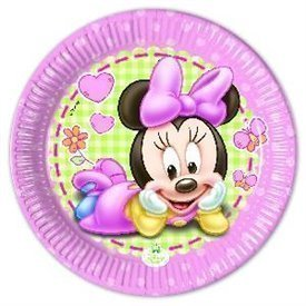 Platos Minnie Infantil 20cm (8)
