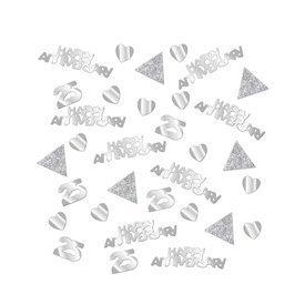 Confetti Plata 25 aniversario