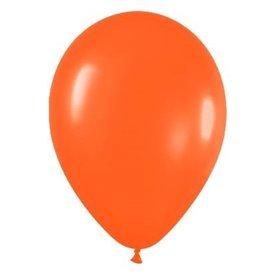 Globos de 22,5 cm aprox Color Naranja Solido (50 ud)