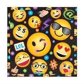 Servilletas Emoji Black (16)