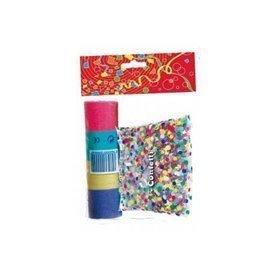 Bolsa confetti y serpentinas