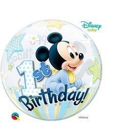 Globo Baby Mickey 1 Burbuja BubbleQL-12864 Qualatex