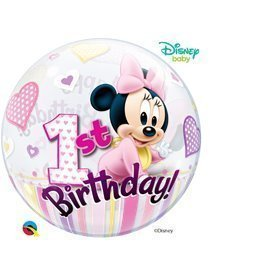 Globo Baby Minnie 1 Burbuja BubbleQL-12862 Qualatex