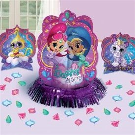 Decoracion mesa Shimmer & Shine