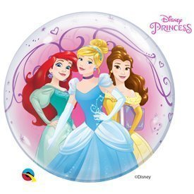 Globo Princesas Disney Burbuja Bubble 56 cmQL-46725 Qualatex