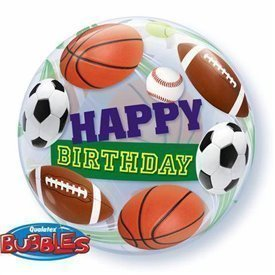 Globo Deportes Burbuja Bubble 56cmQL-34821 Qualatex