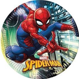 Platos Spiderman Marvel de 23cm (8)