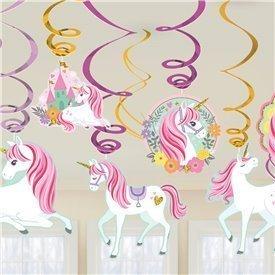 Decoracion Colgante Unicornio Magico (6x2)671929 Amscan