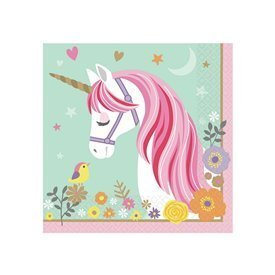 Servilletas Unicornio Magico (16)511929 Amscan