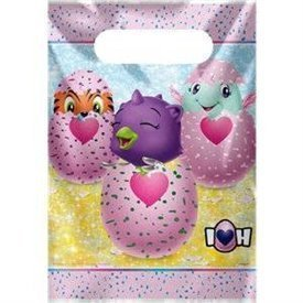 Bolsas Chuches/Juguetes Hatchimals (8)UN-59313 Unique