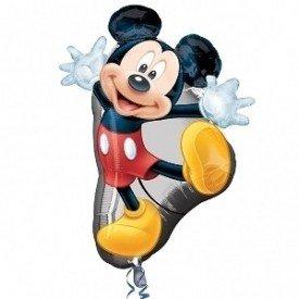 Globo Foil Forma Mickey 55x78 cm aprox. ( Empaquetado)2637301 Anagram