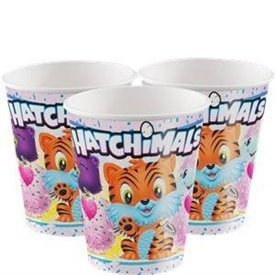 Vasos Hatchimals (8)UN-59306 Unique