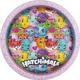 Platos Hatchimals de 23cm (8)UN-59305 Unique