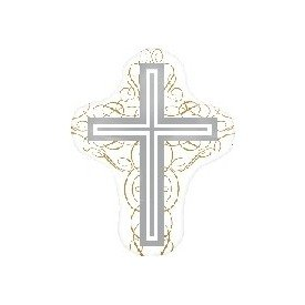 Globo Foil Boda Forma de Cruz (sin Inflar)2681501 Anagram