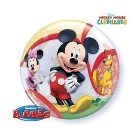 Globo Mickey y sus amigos Burbuja Bubble de 56cmQL-41067 Qualatex