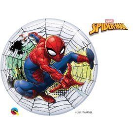 Globo Spiderman Burbuja Bubble de 56cmQL-54052 Qualatex