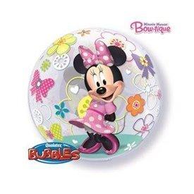 Globo Minnie Rosa Burbuja Bubble de 56cmQL-41065 Qualatex