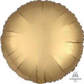 Globo Circulo color satin Dorado de 45cm3680101 Anagram