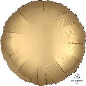 Globo Circulo color satin Dorado de 45cm3680101 Anagram