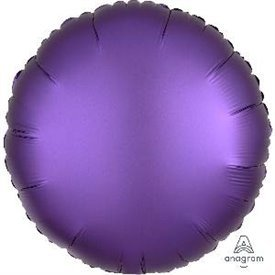 Globo Circulo color satin Morado Royal de 45cm
